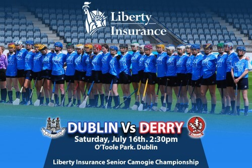 LIBERTY INSURANCE SENIOR CAMOGIE CHAMPIONSHIP VENUE & THROW IN UPDATE