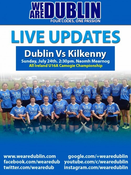 ALL IRELAND U16A CAMOGIE CHAMPIONSHIP – LIVE UPDATES