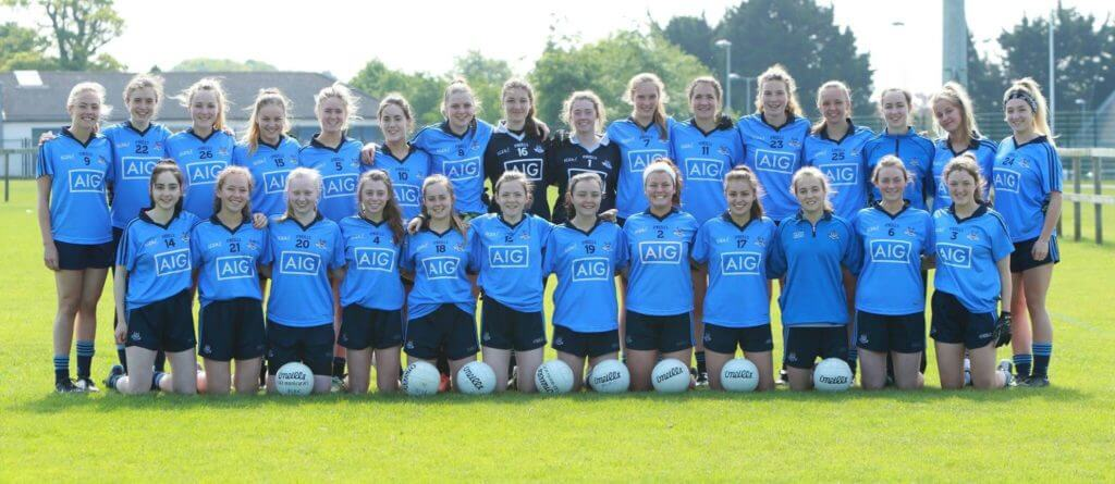 DUBLIN'S MINOR LADIES FOOTBALLERS LOOKING FOR MORE PROVINCIAL HONOURS ON SUNDAY