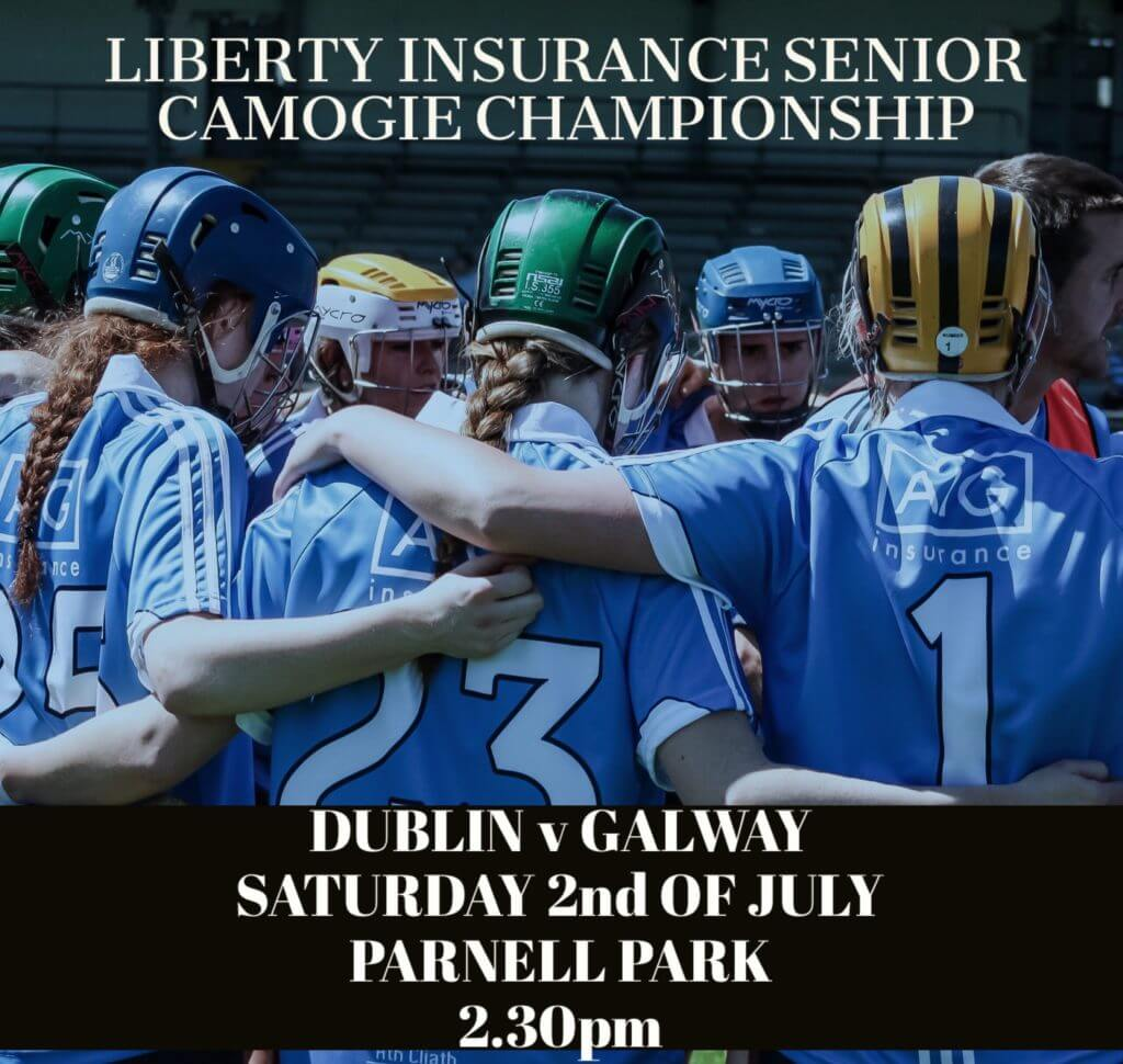 DUBLIN SENIOR CAMOGIE TEAM NAMED FOR VITAL CHAMPIONSHIP CLASH WITH GALWAY