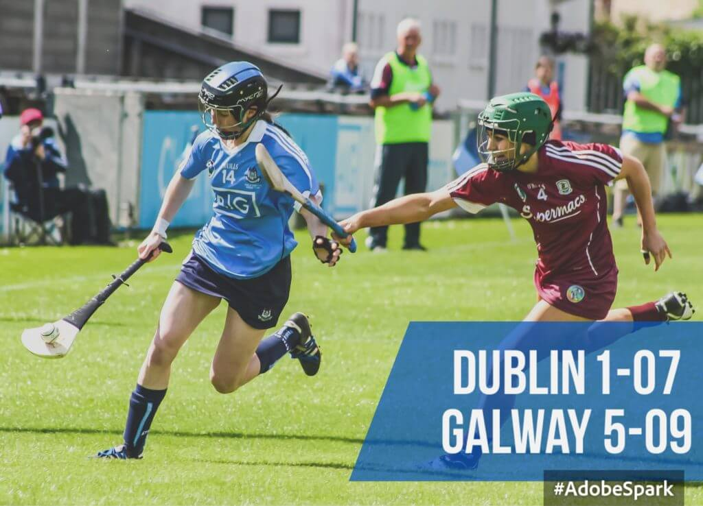 GALWAY SEAL VICTORY DESPITE MUCH IMPROVED SECOND HALF FROM DUBLIN