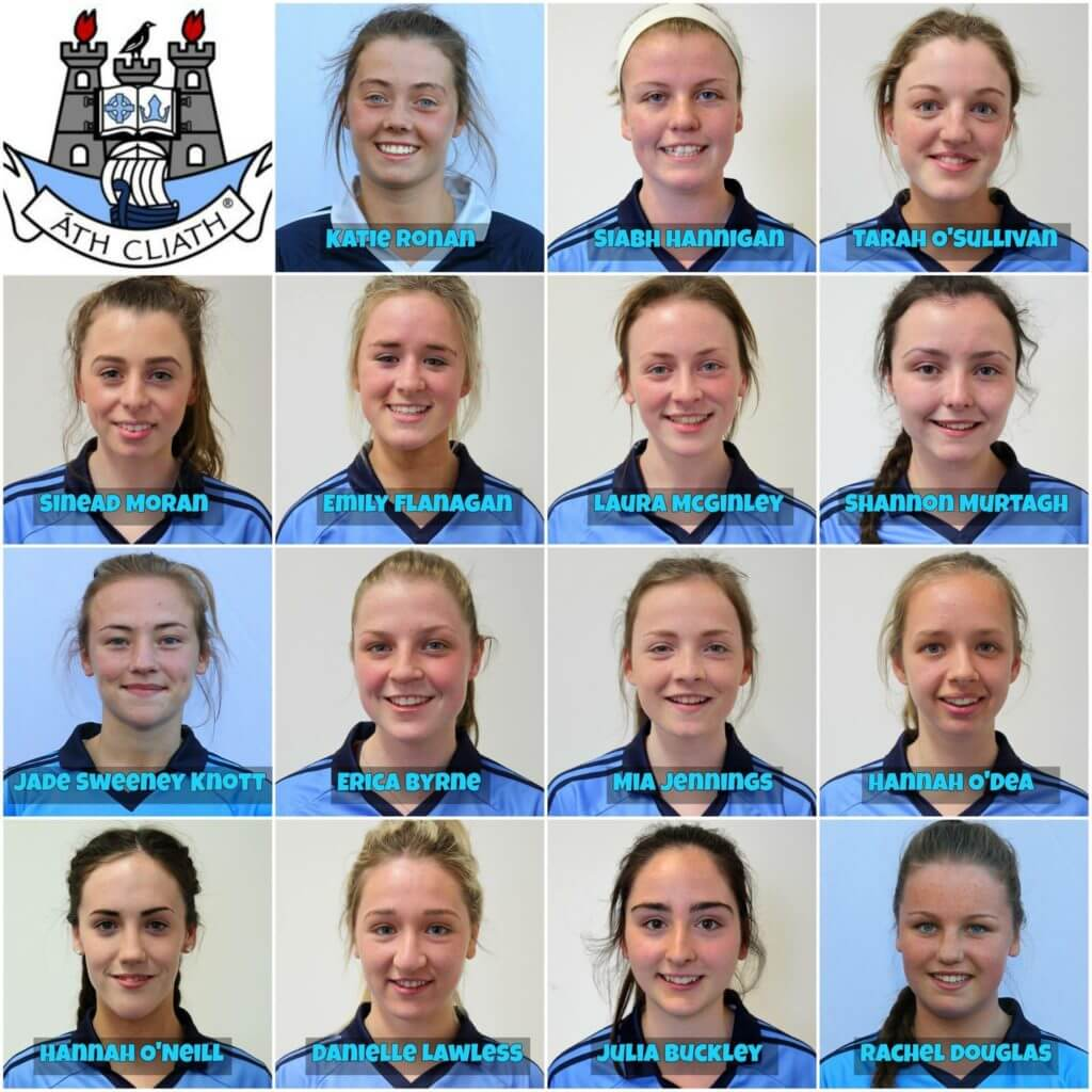 DUBLIN MINOR STARTING 15 FOR TODAY'S LEINSTER FINAL