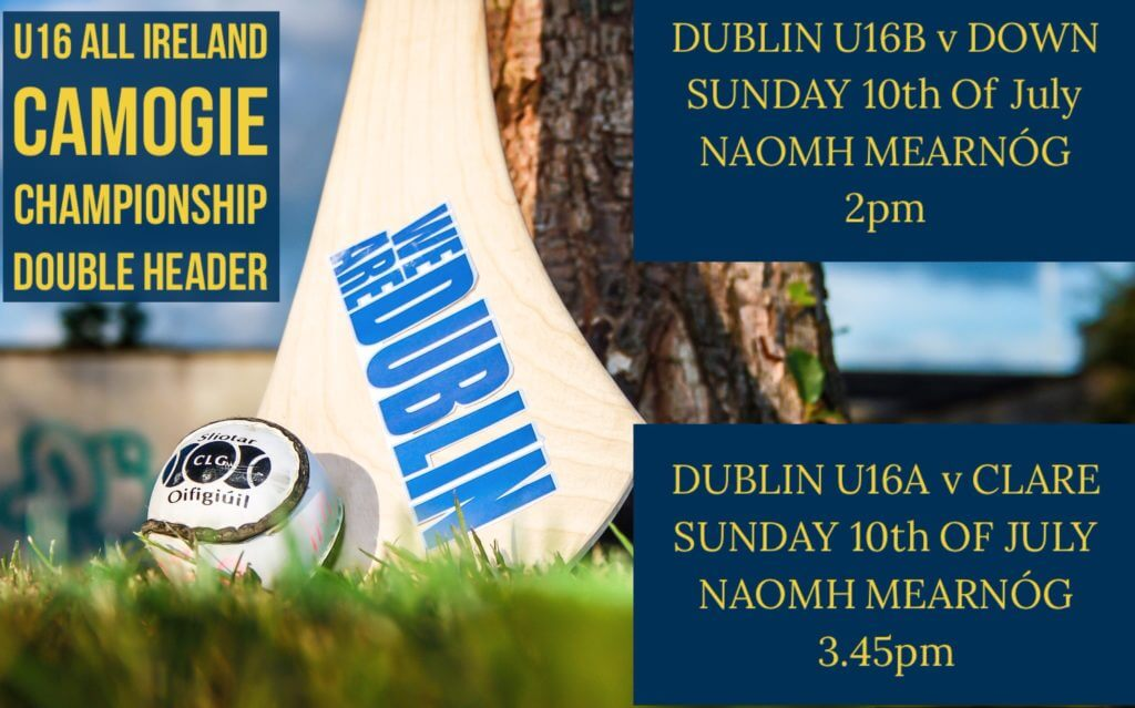 DOUBLE HEADER OF U16 ALL IRELAND CAMOGIE CHAMPIONSHIP ACTION THIS SUNDAY