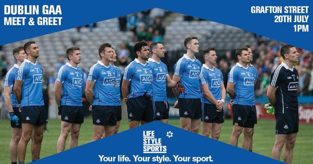 MEET AND GREET WITH DUBLIN GAA STARS FROM ALL FOUR CODES