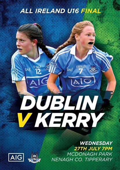 NEXT WEDNESDAY IS A BIG DAY FOR DUBLIN'S U16 LADIES FOOTBALLERS