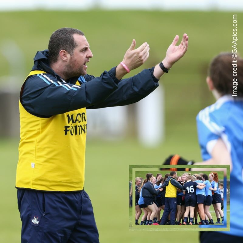 U16 COACH LEE MORONEY FEELS HONOURED AND PRIVILEGED TO BE INVOLVED WITH DUBLIN