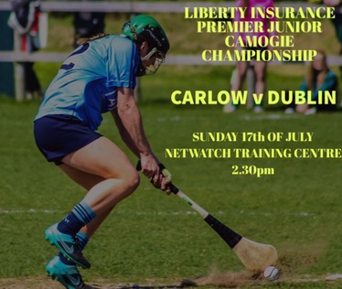 PREMIER JUNIOR CAMOGIE TEAM NAMED FOR CHAMPIONSHIP CLASH WITH CARLOW