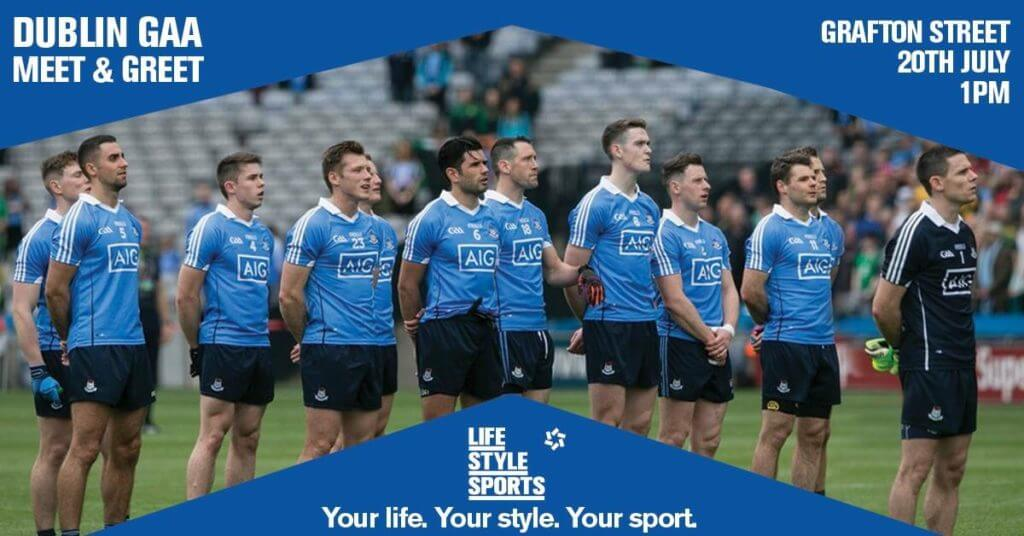 DUBLIN GAA MEET AND GREET – LIFESTYLE SPORTS GRAFTON STREET