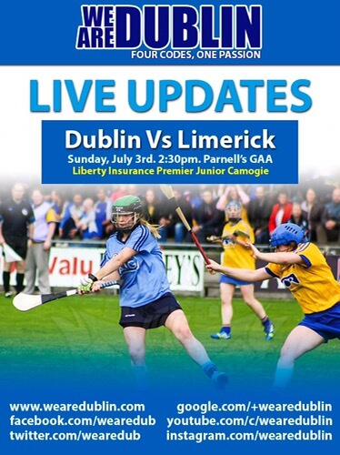 LIBERTY INSURANCE PREMIER JUNIOR CAMOGIE CHAMPIONSHIP – LIVE UPDATES
