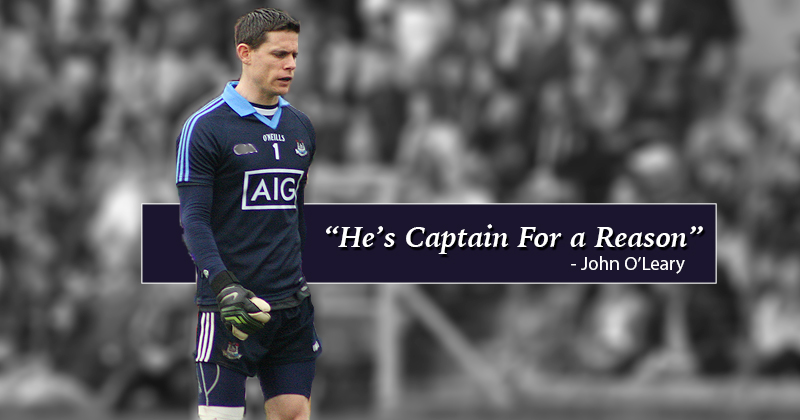 FORMER DUBLIN LEGEND O LEARY BELIEVES CLUXTON WILL BOUNCE BACK
