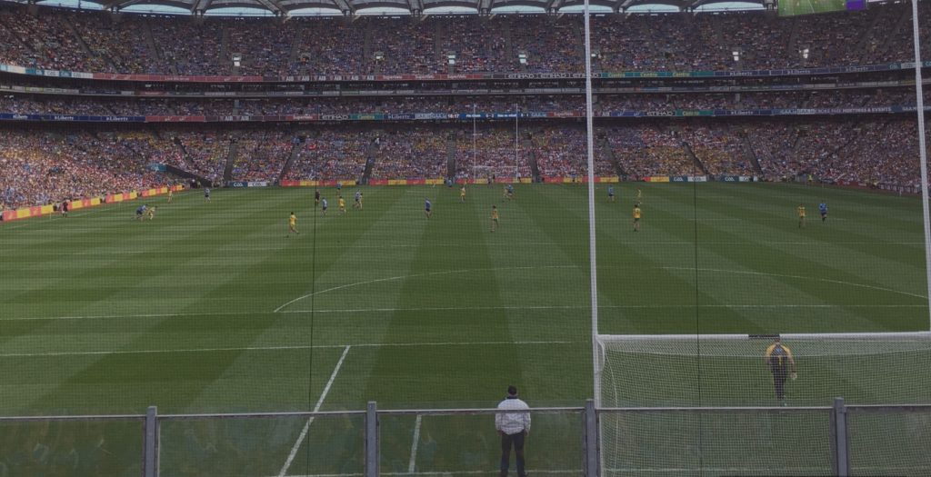 13 MAN DUBLIN MAKE DONEGAL BLANKET DEFENCE LOOK LIKE A WELL WORN SHEET TO MAKE SEMI-FINAL
