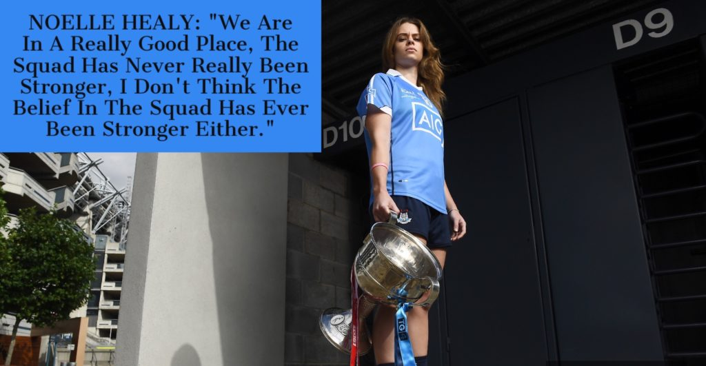 EXCLUSIVE AUDIO INTERVIEW WITH DUBLIN CAPTAIN NOELLE HEALY