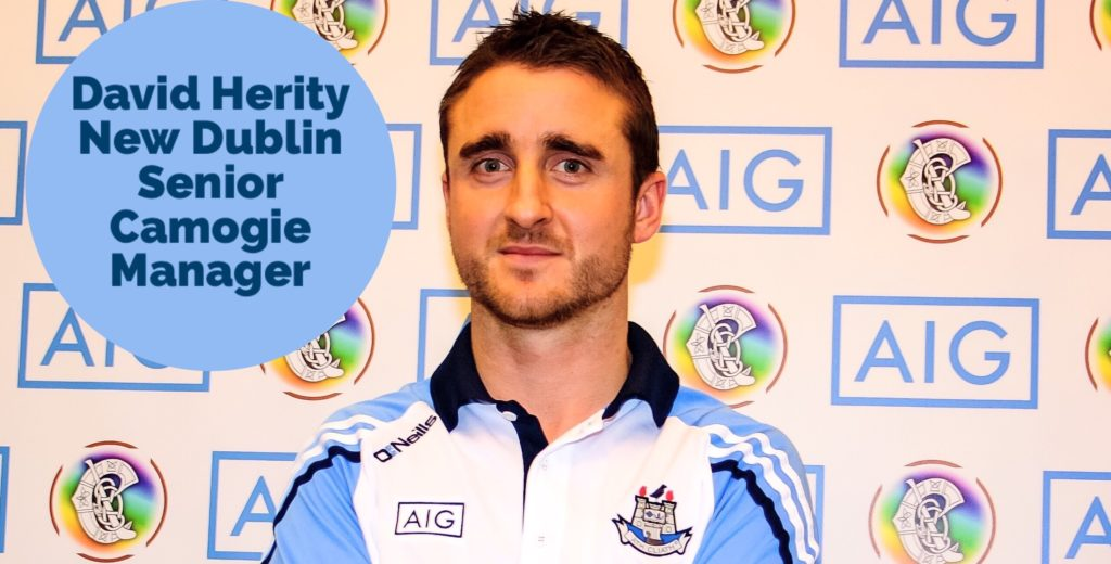 DAVID HERITY NAMED AS NEW DUBLIN SENIOR CAMOGIE MANAGER