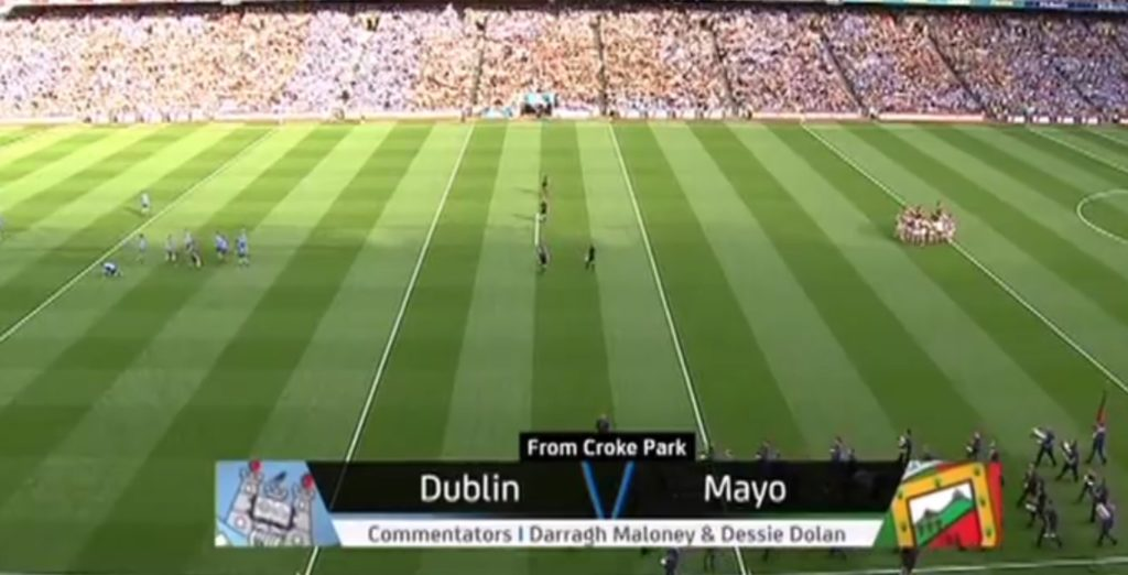 DUBLIN v MAYO A BLAST FROM THE PAST
