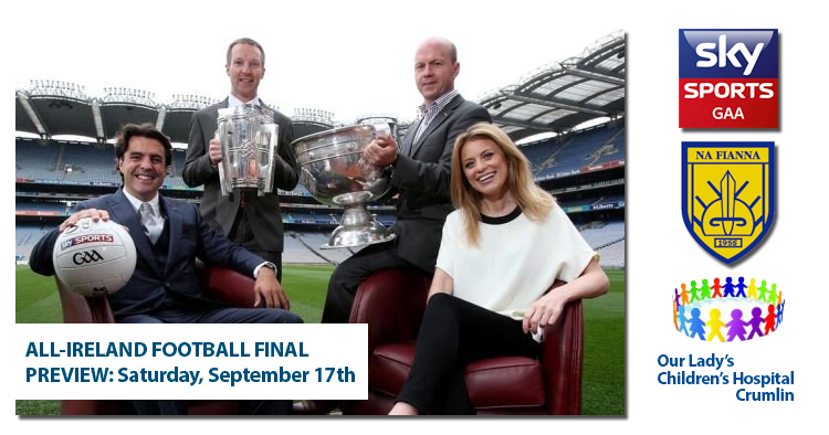 ALL IRELAND FOOTBALL FINAL PREVIEW: IN AID OF CMRF CRUMLIN