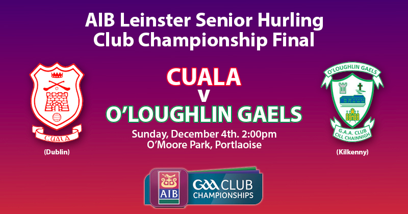 PORTLAOISE TO HOST THIS YEARS AIB LEINSTER SENIOR HURLING FINAL