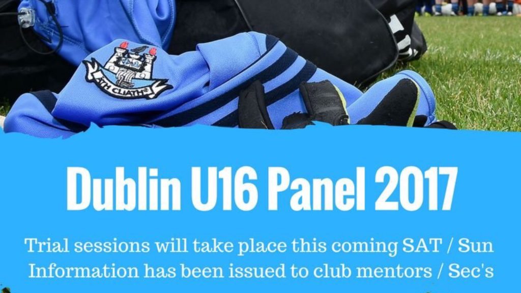 DUBLIN U16 LADIES FOOTBALL TRIALS BEGIN THIS WEEKEND