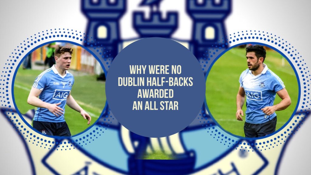 HOW DID NO DUBLIN HALF BACK WIN AN ALL STAR AWARD