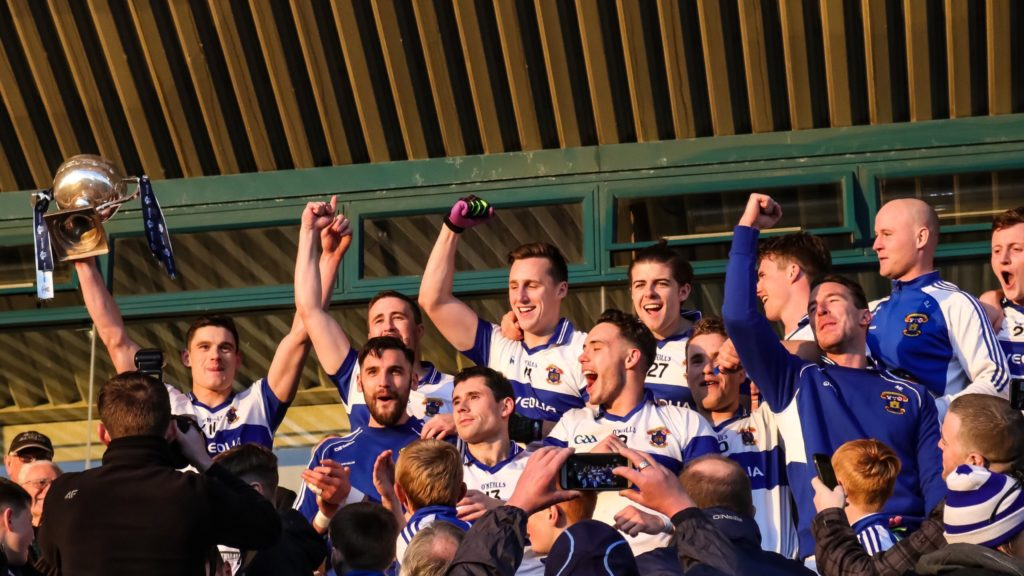 CONNOLLY AND QUINN PUT AN END TO CASTLEKNOCK'S FAIRYTALE RUN