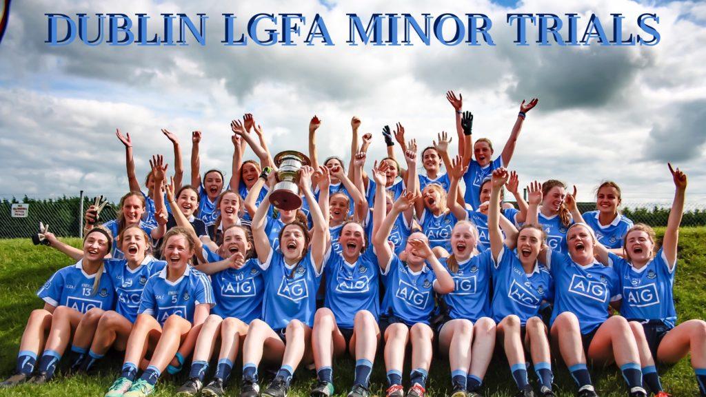 DUBLIN LGFA SEEK NOMINATIONS FOR 2017 MINOR PANEL