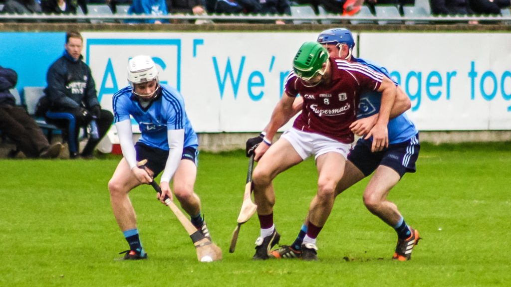 DUBLIN HURLERS WILL FACE GALWAY IN TULLAMORE IN LEINSTER CHAMPIONSHIP