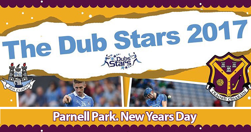 DUB STARS 2017 MATCHES CONFIRMED FOR PARNELL PARK