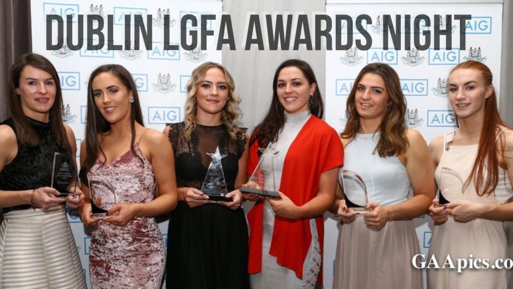 DUBLIN LADIES FOOTBALL AWARDS NIGHT