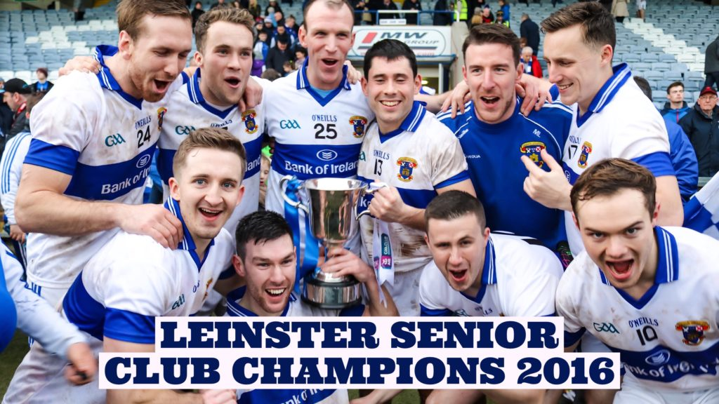 CONNOLLY STARS FOR VINCENT'S AS THEY CLAIM LEINSTER GLORY