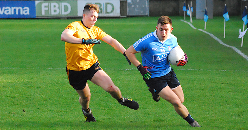 HUDSON LEADS DUBLIN TO OPENING O'BYRNE CUP WIN