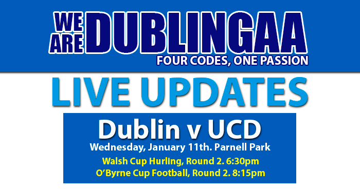 WALSH CUP AND O'BYRNE CUP ROUND 2 – LIVE UPDATES