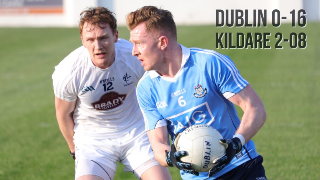 DUBLIN THROUGH TO O'BYRNE CUP FINAL
