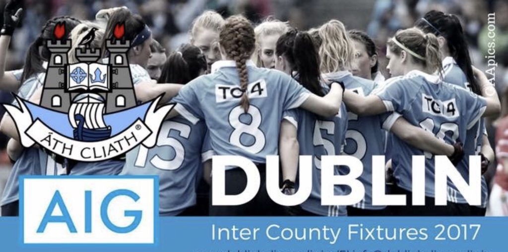 DUBLIN LADIES FOOTBALL 2017 INTER COUNTY FIXTURES
