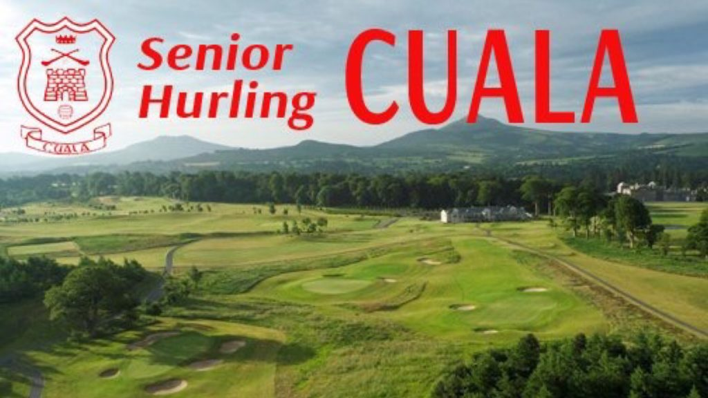 FUNDRAISERS IN AID OF THE CUALA SENIOR HURLERS TRAINING FUND