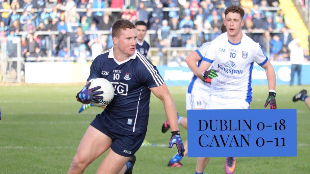 DUBLIN MAKE IT 30 GAMES UNBEATEN WITH VICTORY OVER CAVAN
