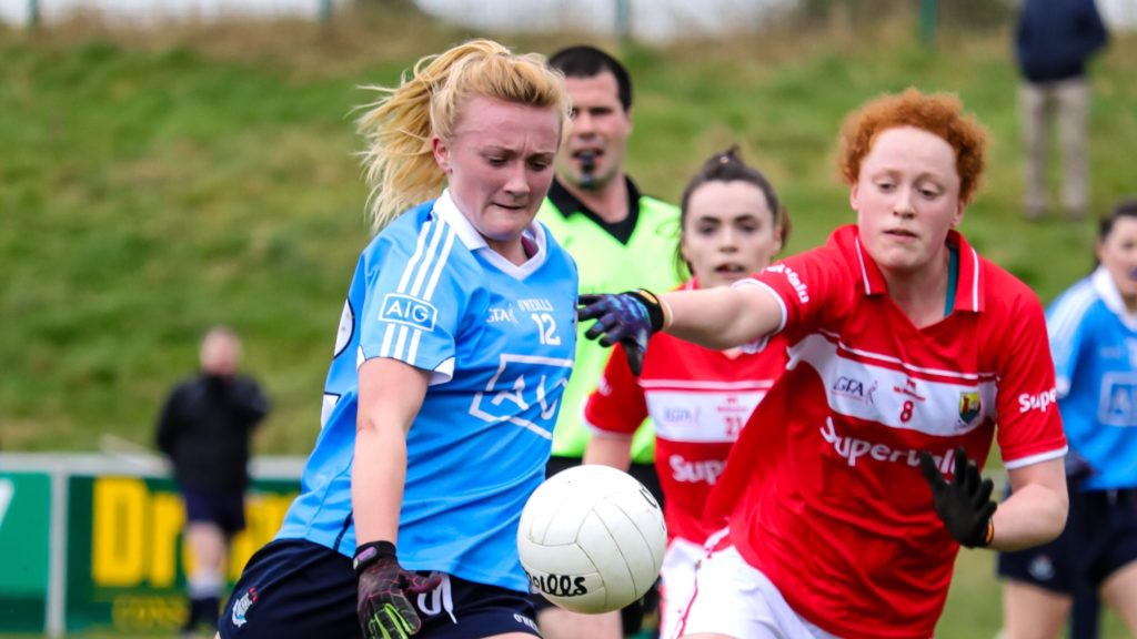 ONE POINT SEPARATES DUBLIN AND CORK AT THE BREAK
