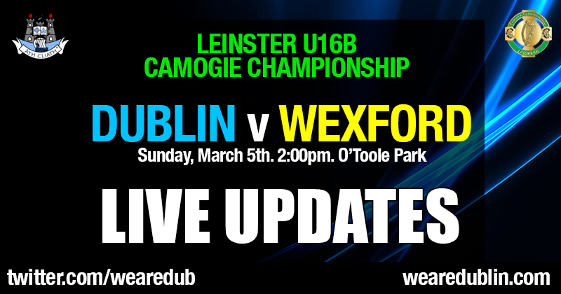 LEINSTER U16B CAMOGIE CHAMPIONSHIP – LIVE UPDATES