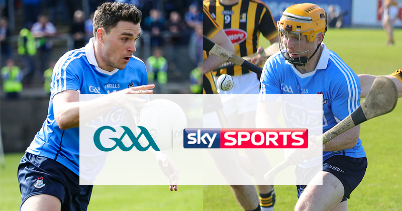 DUBLIN FOOTBALLERS OPEN THIS YEARS SKY SPORTS GAA COVERAGE
