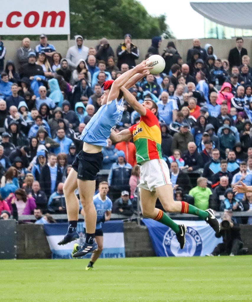 Dublin's Brian Fenton Soars High To Claim Possession