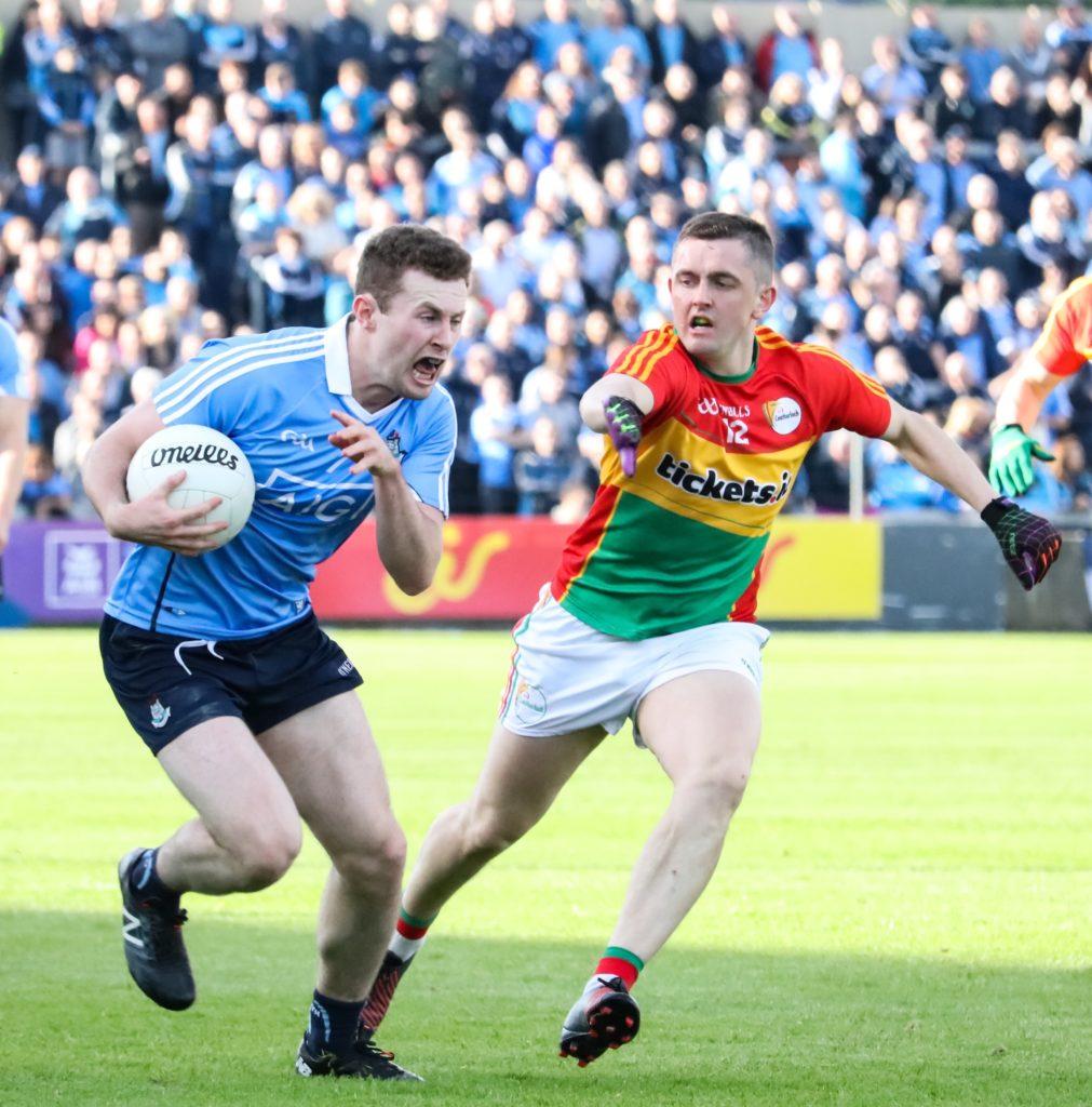 Dublin's Jack McCaffrey Attacking Carlow Defence
