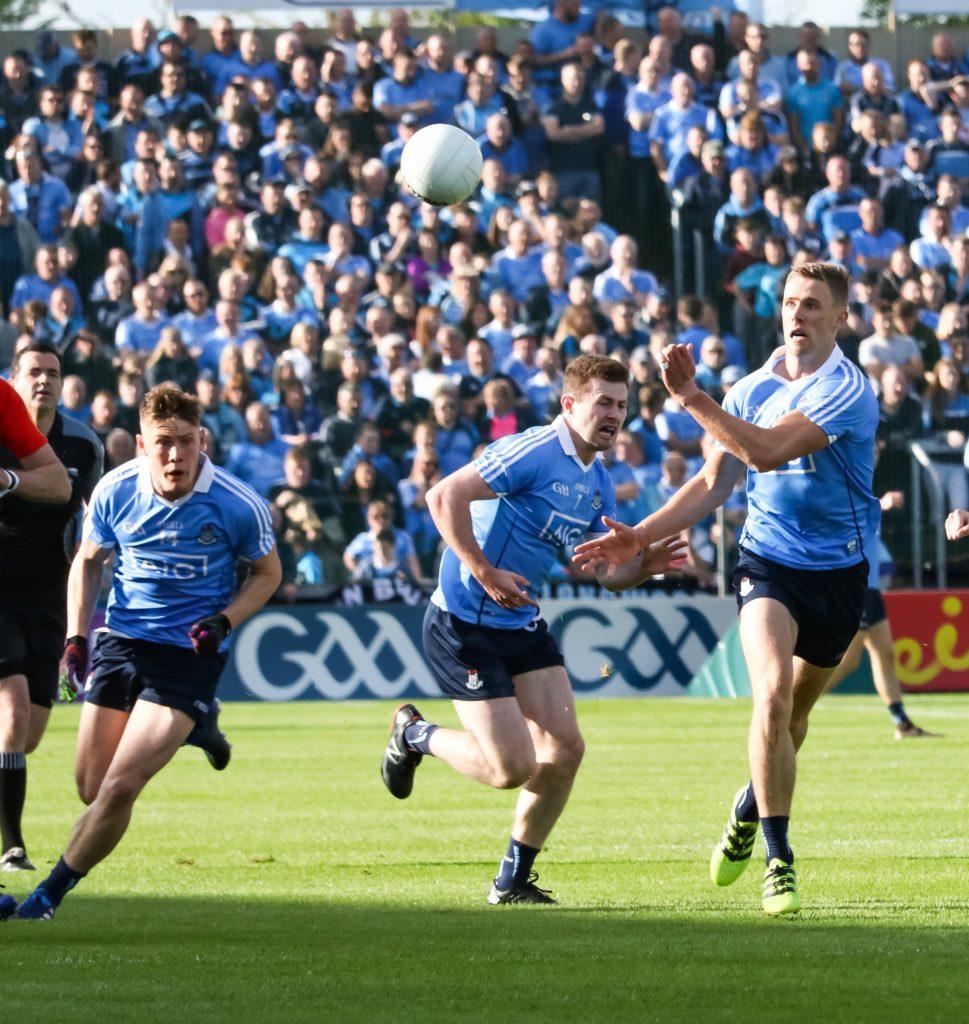 Dublin's Paul Mannion Hand Passing The Ball