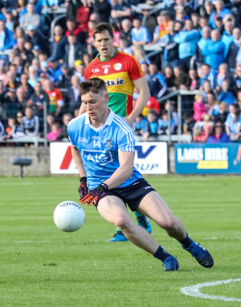 Dublin's Con O'Callaghan In Action Against Carlow