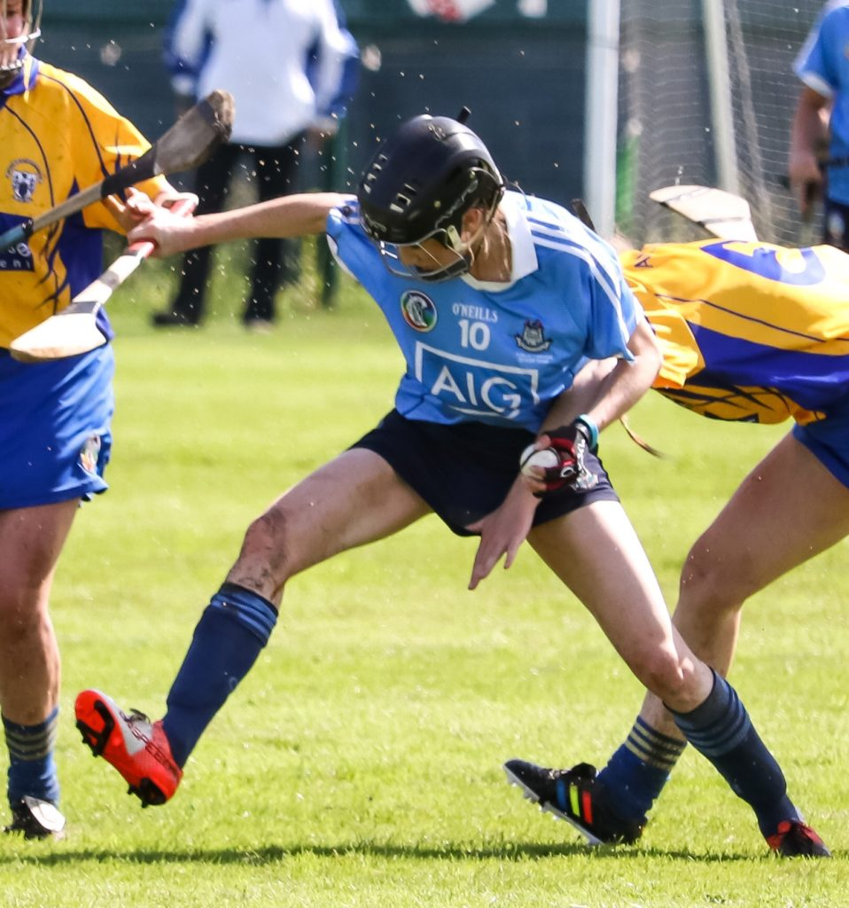 Dublin's Miriam Twomey In Action Against Clare