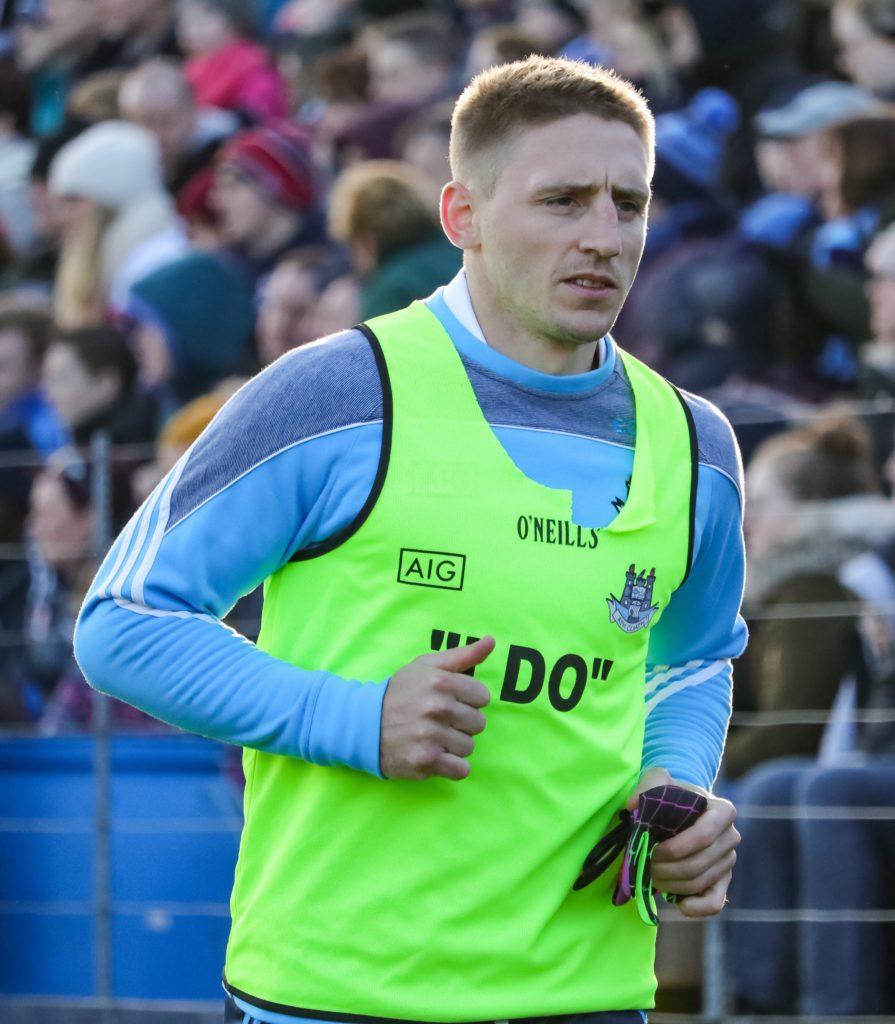 Dublin's Eoghan O'Gara Warming Up During League Game Against Cavan