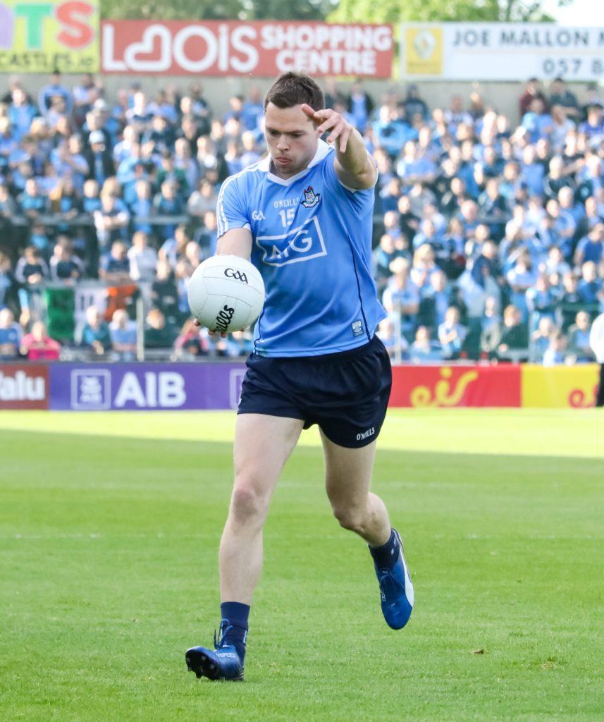 Dublin's Dean Rock Scoring a free against Carlow