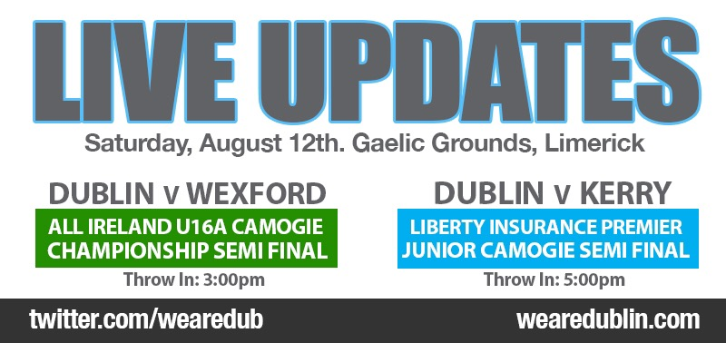 ALL IRELAND U16A AND PREMIER JUNIOR CAMOGIE SEMI FINALS – LIVE UPDATES
