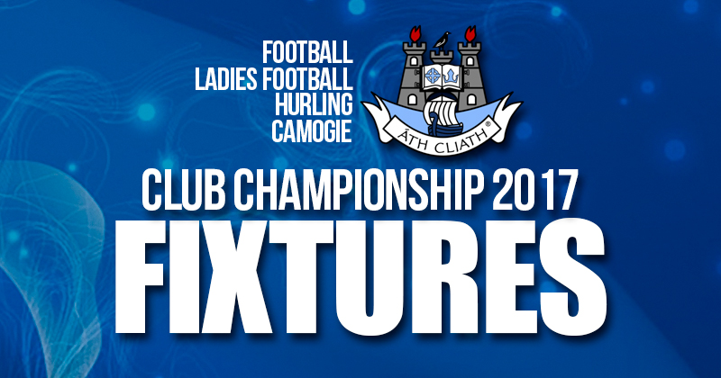 WEEKLY CLUB CHAMPIONSHIP FIXTURES UPDATE