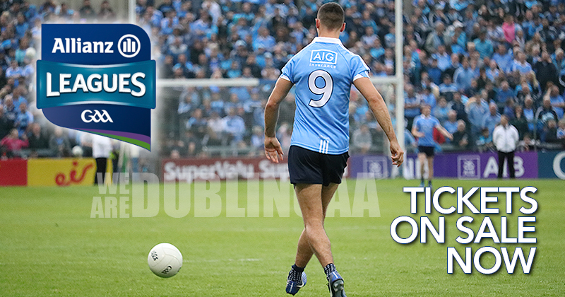 ALLIANZ NATIONAL HURLING AND FOOTBALL LEAGUE TICKETS NOW AVAILABLE
