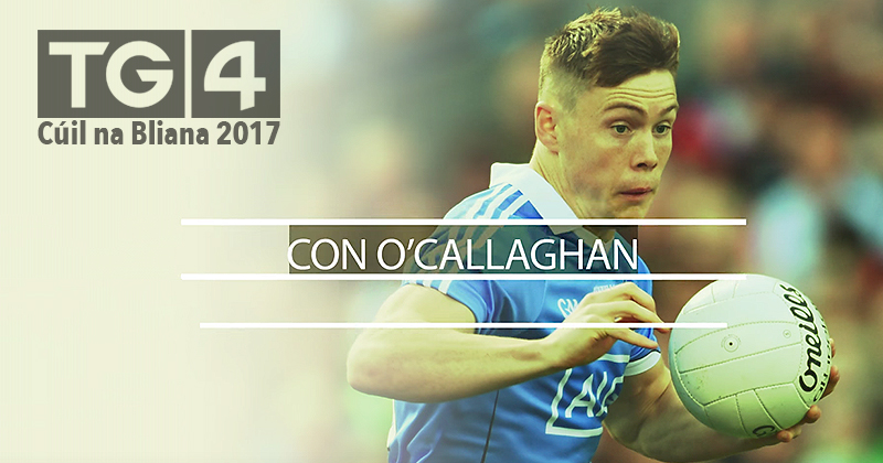 Con O'Callaghan is nominated twice in TG4s Goal Of The Year