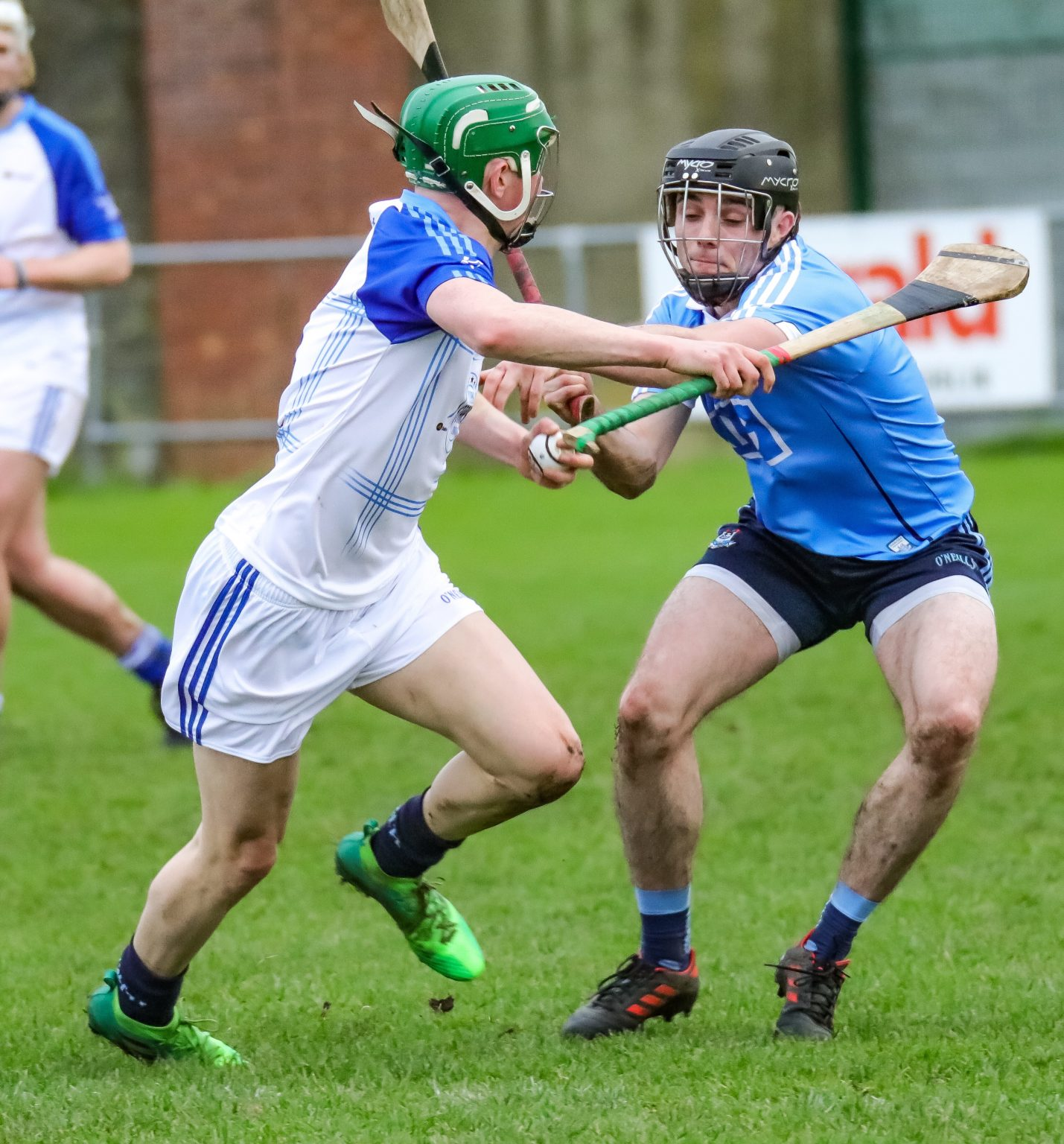 Action Shot From The 2017 Dub Stars Hurling Game