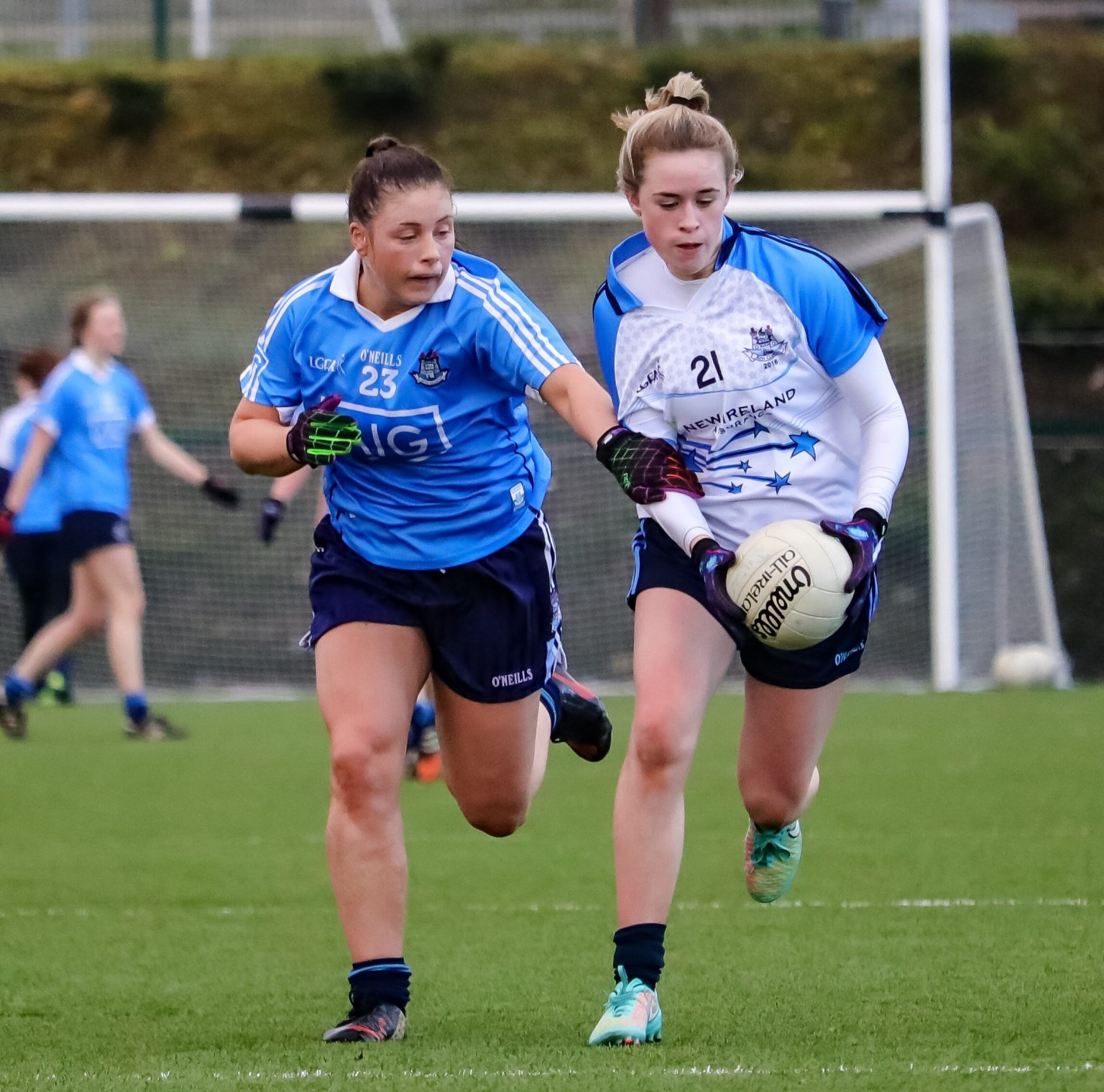 Action From The 2016 Dubs Stars Game Held In DCU